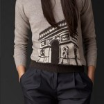 Burberry Paris Landmark Cashmere Sweater