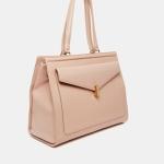 Reiss Lennox Front Pocket Buckle Detail Day Bag