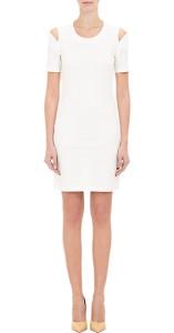 Maison Margiela Split-Seam Shoulder Dress