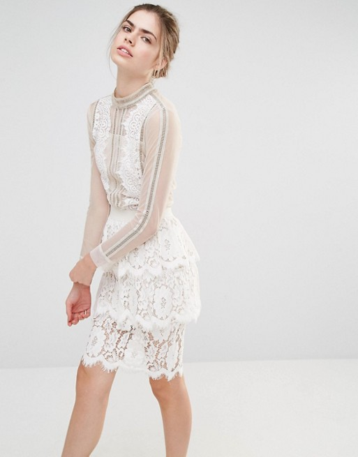 endless-rose-sheer-lace-detail-blouse