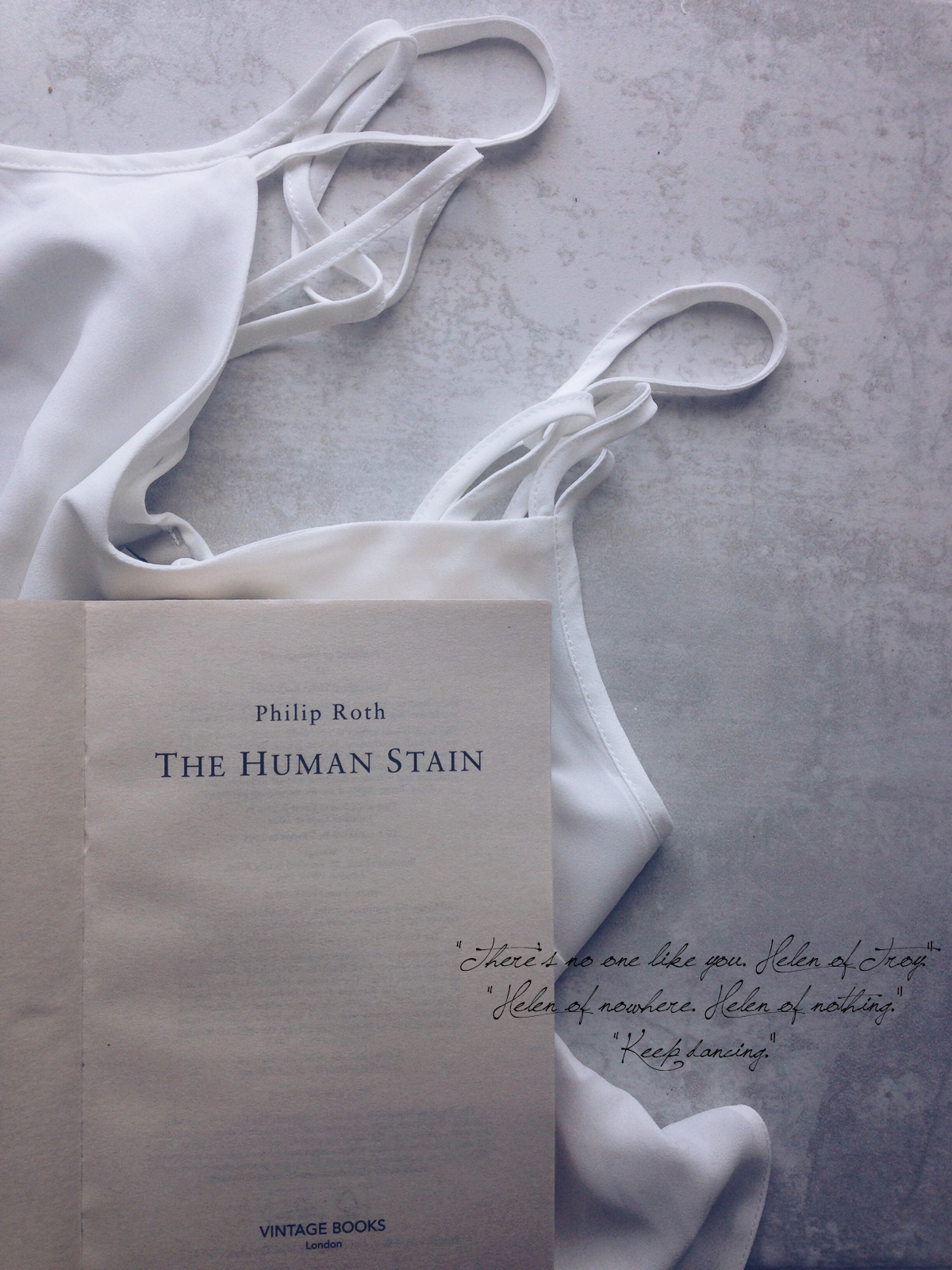 Reading The Human Stain